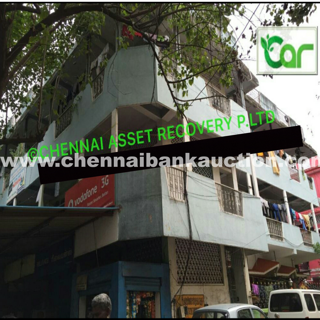 commercial building sale in AYANAVARAM - CHENNAI BANK AUCTION